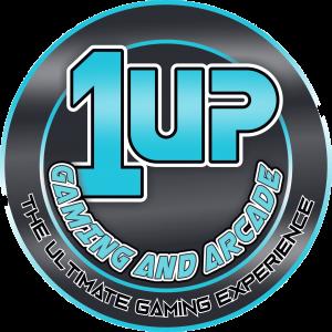 1UP Gaming & Arcade (LOGO no glow)
